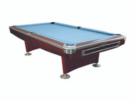 President V Pool Table - 7FT - Mahogany - 002-037-BN-7
