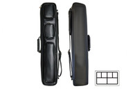 Delta Cowboy Leather 2x4 Soft Case Black - 035-515-BK