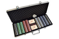 Poker Chip Set - 500pcs -  200-002