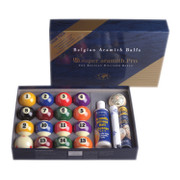 Aramith Super Pro Cup TV Value-Pack Billiard Ball Set - 040-090-VP