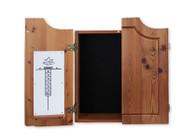 Dartboard Cabinet Rustic - Louis - 100-401-L