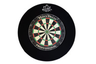 Delta Dartboard Backboard Round - Black - 100-701-BK