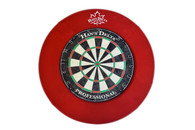 Delta Dartboard Backboard Round - Red - 100-701-RD
