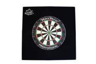 Delta Dartboard Backboard Square - Black - 100-751-BK