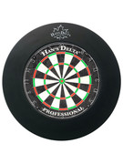 Delta Dartboard Surround PU Round - Black - 100-702-BK