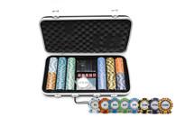 Monte Carlo Poker Chip Set - 300pcs -  200-021