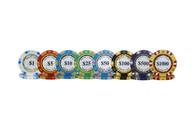 Monte Carlo 14 Gram Poker Chips -  200-020-1