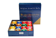 Aramith Super Pro Cup TV Billiard Ball Set - 040-090