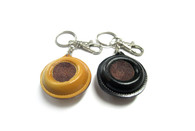 8 Ball Leather Tip Scuffer with Key Chain - 095-322-8