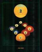 Billiard Poster #090-013