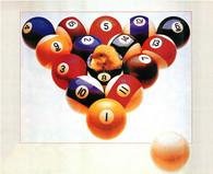 Billiard Poster #090-027
