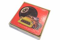 Billiard Leather Coaster - 095-017