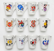 Mug Cup - 12 Zodiac Sign - 079-450