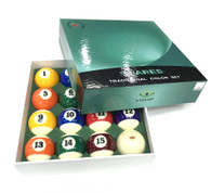 Cyclop Traditional Color ARES Billiard Ball Set - 040-102