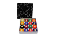 "Standard 2 1/16"" Billiard Ball Set - 042-006C"