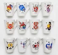 Mug Cup - 12 Zodiac Sign - Set of 12 - 079-450-SET