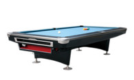 President V Pool Table - 9FT - Black - 002-037-BK-9