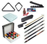Premium Billiard Accessory Kit - Black - 093-801-BK