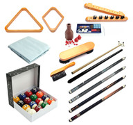 Premium Billiard Accessory Kit - Honey - 093-801-HY