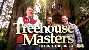 Tree House Masters behind the build Frank Lloyd Wright inspired tree house