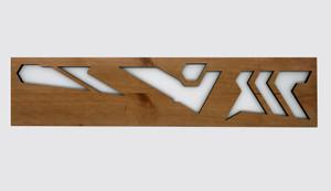 Kentuck Knob B Perforated Board