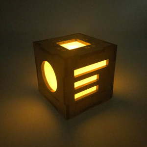 Organic Commandment Cube Light