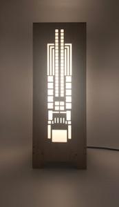 Hollyhock House Lightbox
