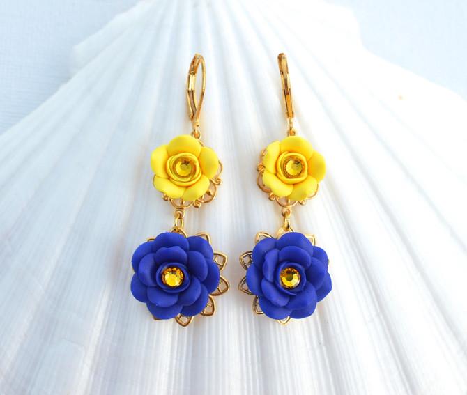 Sunshine Yellow and Cobalt Blue