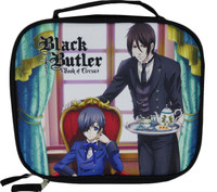Black Butler Book of Circus: Ciel and Sebastian Lunch Bag