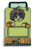 Gravitation: Shuichi in Suitcase Embroidery Anime Patch