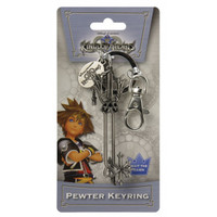 Kingdom Hearts: Oathkeeper Keyblade Metal Key Chain