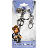 Kingdom Hearts: Sora Kingdom Key Keyblade Pewter Key Ring Keychain