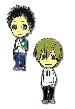 Durarara: Midado and Masaomi Anime Pin Set