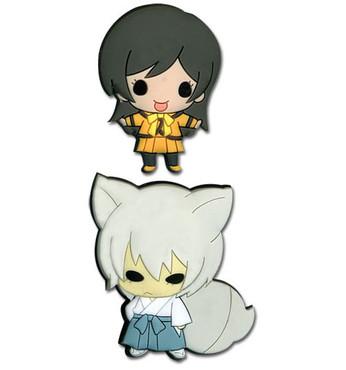 Kamisama Kiss: SD Tomoe & Nanami PVC Pin Set of 2