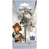 Kingdom Hearts: Riku Sword Pewter Key Ring Keychain