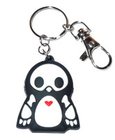 Skelanimals: Pen the Penguin Vinyl Key Chain