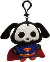 Skelanimals DC Heroes: Superman Dax Clip-On Plush