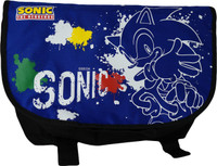 Sonic the Hedgehog: Sonic Line Art Spray Paint Messenger Bag