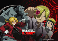Fullmetal Alchemist: Philosopher's Stone Anime Wall Scroll