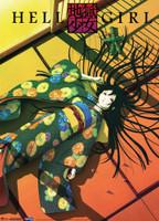Hell Girl: Enma Ai Laid Down Anime Wall Scroll