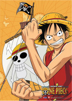 One Piece: Luffy Flex Anime Wall Scroll