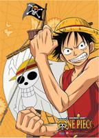 One Piece: Luffy Flex Anime Wall Scroll