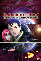 Robotech the Shadow Chronicles: Scott Bernard and Ariel Wall Scroll