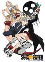 Soul Eater: Girls of Soul Eater Anime Wall Scroll