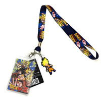 Dragon Ball Z: Super Saiyan Goku Lanyard with ID Holder and Charm
