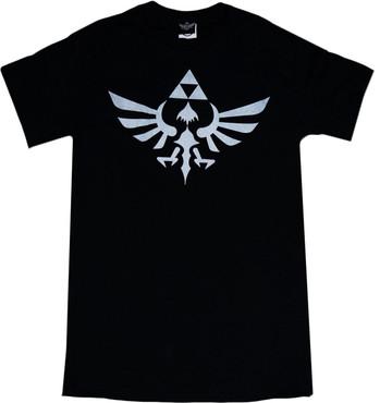The Legend of Zelda: Triumphant Triforce Men's Black T-Shirt
