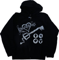 Kingdom Hearts: Keyblade Kingdom Key Hoodie Sweatshirt