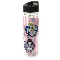 Sailor Moon Stars: Outer Scouts & Chibimoon Tritan Water Bottle