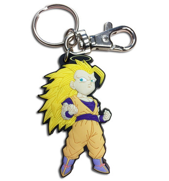Dragon Ball Z: SD Super Saiyan 3 Goku Key Chain