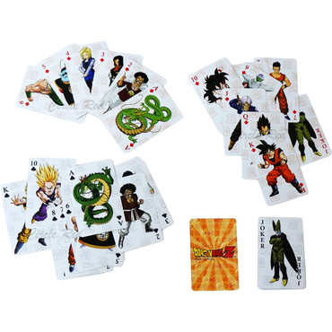Dragon Ball Z Group Playing Cards